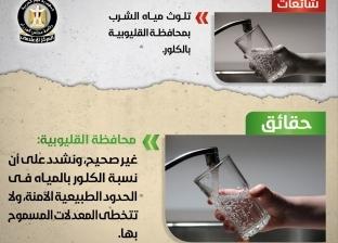 مجلس الوزراء ينفي تلوث مياه الشرب في محافظة القليوبية بالكلور