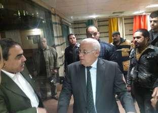 محافظ بورسعيد يتفقد قسم الاستقبال والطوارئ بمستشفى التضامن