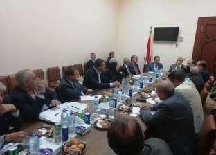 بالصور| اجتماع الهيئة الوطنية للصحافة برؤساء مجالس إدارات المؤسسات