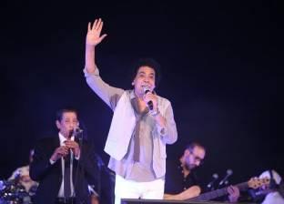 """محمد منير لـ""""حديث المساء"""": أعمالي الفنية تعبر عن ثقافة الشعب المصري"""
