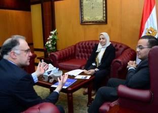 """""""خضير """"يلتقي رئيس التعاون الدوليبالوكالة الوطنية لدعم تنمية الاقتصاد الفرنسي"""