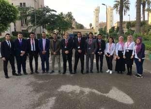 30 طالبا من جامعة المنصورة يشاركون في المؤتمر الوطني السادس للشباب