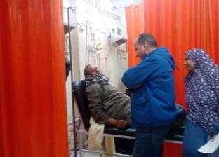 """مدير """"الطب العلاجي"""" بالبحيرة يتفقد مستشفى إدكو"""