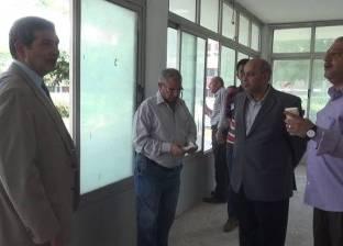 القائم بأعمال جامعة المنيا يتابع أعمال الصيانة بالمنشآت