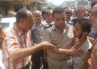 بالصور| رئيس مدينة دسوق يترأس حملة لإزالة إشغالات الباعة الجائلين