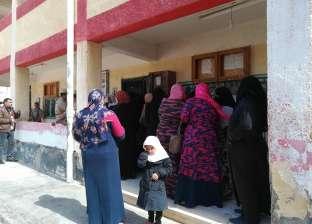 """إقبال كبير على الاستفتاء في قرى المنتمين لـ""""الإخوان"""" بكفر الشيخ"""