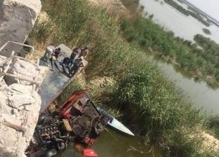 إنقاذ 2 سقطا بمقطورة في الملاحات بالإسكندرية