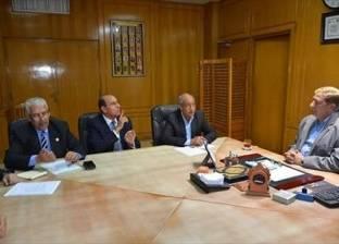 محافظ الإسماعيلية يجتمع بممثلي المنظمة المصرية الدولية لحقوق الإنسان
