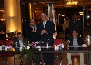 """""""فودة"""" يقيم مأدبة عشاء لسفراء الدول المشاركة في القوة متعددة الجنسيات"""