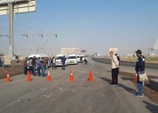 """تعديلات مرورية مهمة بطريق """"القاهرة- الإسكندرية"""" الزراعي بسبب التطوير"""