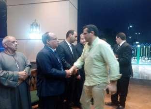 بالصور| سياسيون وصحفيون يتقدمون عزاء عبدالعال الباقوري بمسجد الشرطة