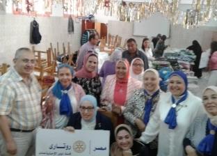 """""""روتاري"""" يدعم ألفي طالب من ذوي الاحتياجات الخاصة بالإسكندرية"""