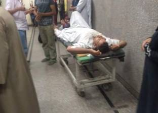 """الصور الأولى لمصابي عقار """"وسط الإسكندرية"""" من داخل مستشفى الأميري"""