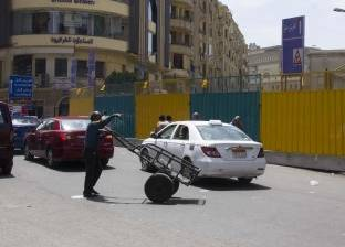 """""""المرور"""": إغلاق جزئي بشارع الأزهر حتى صباح الغد بسبب أعمال صيانة"""