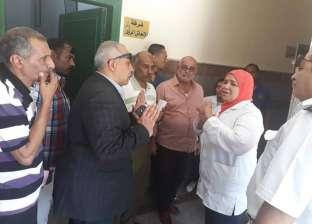 رئيس مدينة سفاجا يتفقد الخدمات الطبية بالمستشفى المركزي