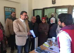 فحص 559 مواطنا ضمن «100 مليون صحة» بشمال سيناء