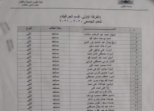 دفعة فنون جميلة بجامعة الأقصر.. طالبان وسط 40 طالبة: «كلنا إخوات»