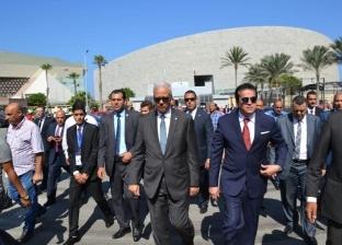 عبد الغفار يتفقد أعمال تطوير منشآت مجمع العلوم الإنسانية بالإسكندرية