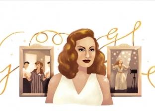 """""""جوجل"""" يحتفل بذكرى ميلاد النجمة الراحلة هند رستم"""