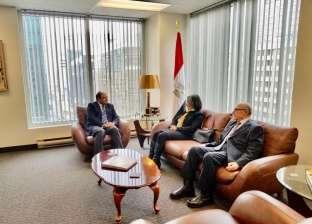 """سفير مصر بكندا يلتقي أساتذة """"الدراسات العربية"""" بـ""""أوتاوا"""" لبحث التعاون"""