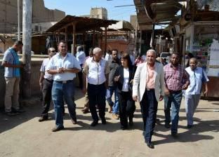 وزيرة التطوير العشوائي السابقة تناقش مشروع تطوير مدينة إسنا التاريخية