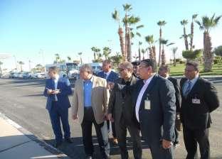 وزير الطيران يتفقد مطار أسوان الدولي لمتابعة الخدمات والاستعدادات
