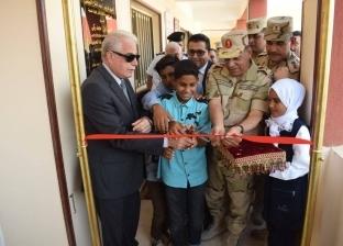 القوات المسلحة تفتتح مدرستين جديدتين للتعليم الأساسي في جنوب سيناء
