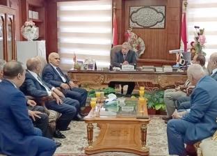 """شيوخ مجلس الدولة يهنئون """"المنشاوي"""" برئاسة النيابة الإدارية"""