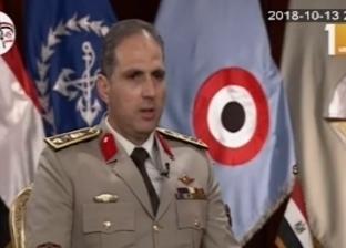 المتحدث العسكري: المرحلة الأولى للعملية الشاملة بدأت برصد بؤر الإرهاب