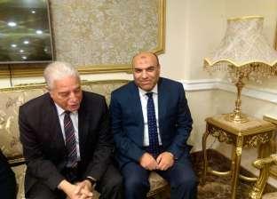 """""""عبدالعاطي"""" ينيب رئيس مصلحة الري للمشاركة في العيد القومي لجنوب سيناء"""