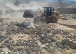 رفع 266 إشغال من شوارع وميادين البحيرة