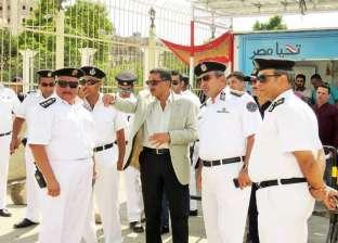 مدير أمن الإسماعيلية يترأس حملة لإزالة التعديات بقسم ثان المحافظة