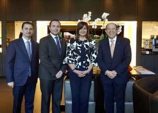 """وزيرة الهجرة تناقش استعدادت مؤتمر """"العودة للجذور 3"""" مع سفير قبرص بلندن"""