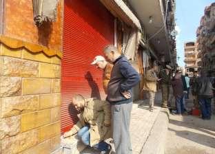 """حملة مكبرة بـ""""دسوق"""" لإزالة الإشغالات وغلق مقاهي بدون ترخيص بكفر الشيخ"""