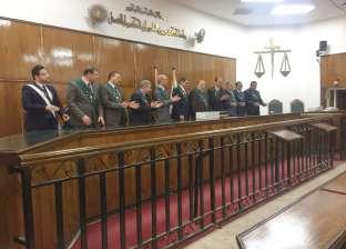تكريم المستشار أحمد الفقي قاضي المعاشات لبلوغه السن القانوني للمعاش