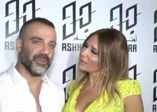 فيديو.. فنان لبناني يحرج زوجته على الهواء