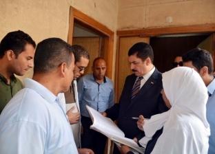 محافظ القليوبية يفاجئ مستشفى الخانكة بزيارة ويأمر بدفع أعمال التطوير
