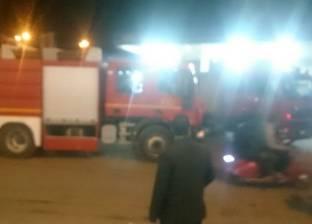السيطرة على حريق في كمية من القش والقمامة بجوار جامعة الفيوم