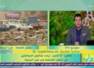 """نائب محافظ القليوبية: """"الكارو"""" سبب انتشار القمامة"""