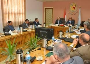 محافظ سوهاج يشارك في اجتماع مجلس الجامعة