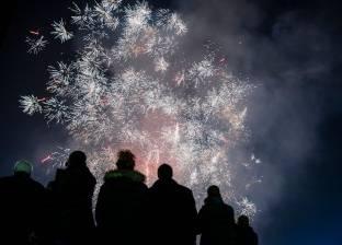 """100 صورة من احتفالات رأس السنة.. """"العالم يستقبل 2018"""""""