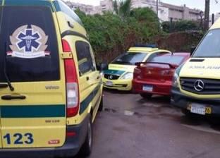إصابة وكيل نيابة في حادث انقلاب سيارة ملاكي بطريق أسيوط - المنيا