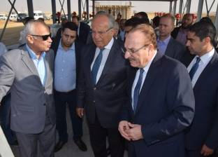"""وزير التنمية المحلية يتفقد """"الصرف الصناعي"""" ببني سويف"""