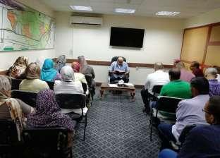 رئيس مدينة كفر الدوار يشدد على حسن معاملة المواطنين والتسهيل عليهم