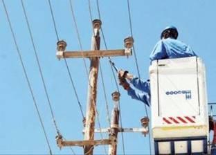 مواصلة الإصلاحات جنوب الشيخ زويد لإمكانية عودة التيار الكهربائى