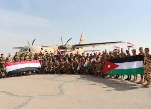 عناصر من القوات المسلحة المصرية والاردنية ينفذان التدريب المشترك العقبة 3 