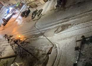 الثلوج والأمطار تحول «دمياط» إلى «موسكو».. صور