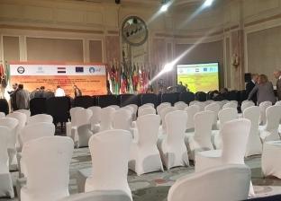 النائب العام يصل لمقر الجلسة الافتتاحية لمؤتمر «مواجهة تمويل الإرهاب»
