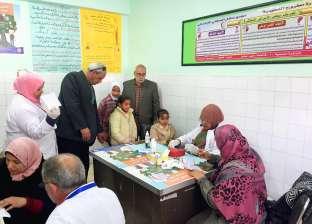 محافظ مطروح يعلن نتائج الحملة القومية للقضاء على الطفيليات المعوية