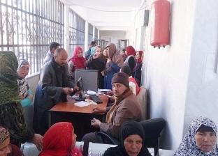 """إقبال كبير في المنيا للكشف بمبادرة """"100 مليون صحة"""""""